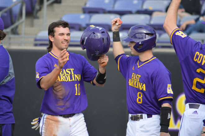 ECU claims an AAC series sweep in New Orleans with a 6-1 Sunday win over Tulane in Turchin Stadium.