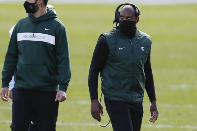 Michigan State head coach Mel Tucker left beautiful Colorado for this.
