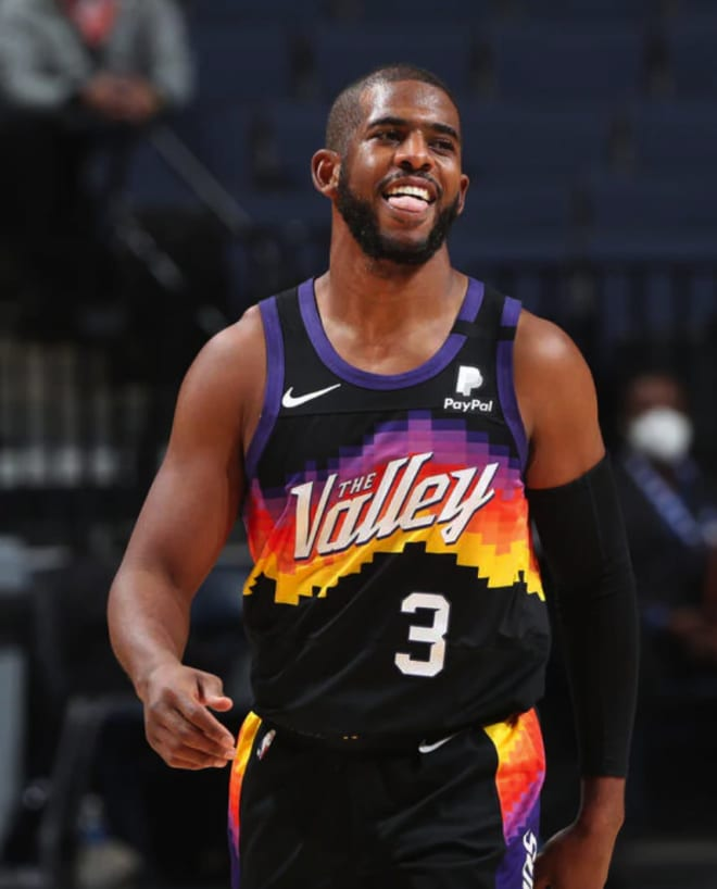 Chris Paul has been a key addition for the Phoenix Suns this season, but is he deserving of an All-Star bid? (Courtesy Phoenix Suns)