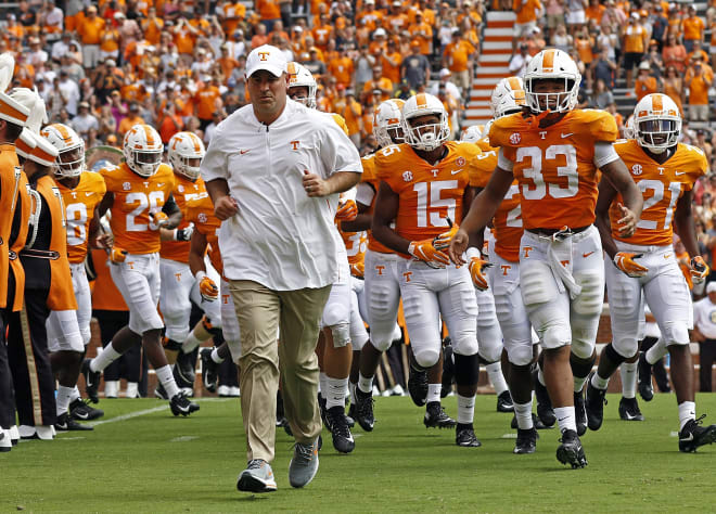 Jeremy Pruitt and the Vols