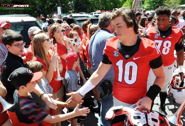 Whatever success Georgia has will largely depend on Jacob Eason.