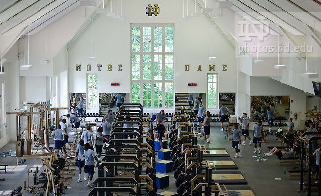Notre Dame has put a temporary half to winter workouts, per a university source.