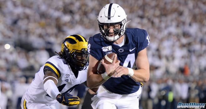 QB Sean Clifford has led the Nittany Lions to a 7-0 record to start the season.