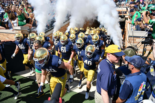 Report Notre Dame Fighting Irish Football Adds South Florida To 2020 Schedule