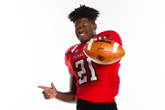 Ranchview RB SaRodorick Thompson announced his commitment to Texas Tech this afternoon