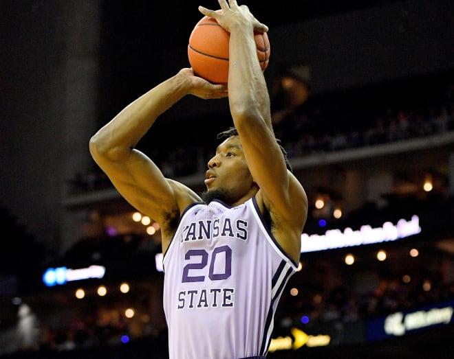 Kansas State senior Xavier Sneed