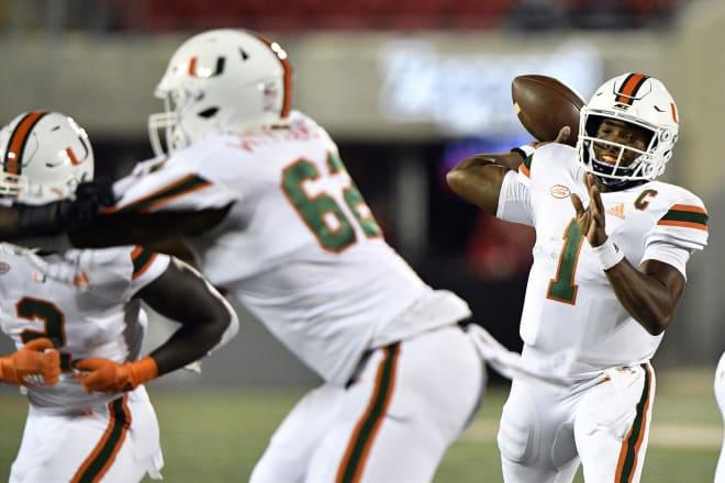 Miami Hurricanes football D'Eriq King
