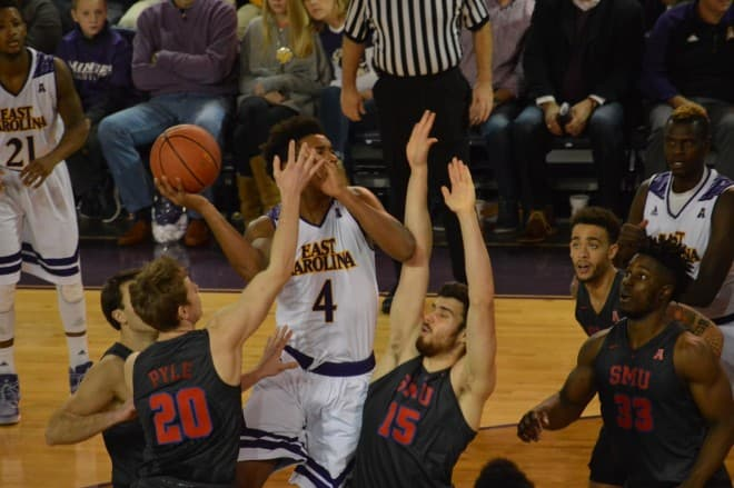 ECU freshman guard Elijah Hughes has decided to transfer out of the Pirate basketball program.