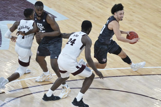 A&M escaped Starkville with a one-point win
