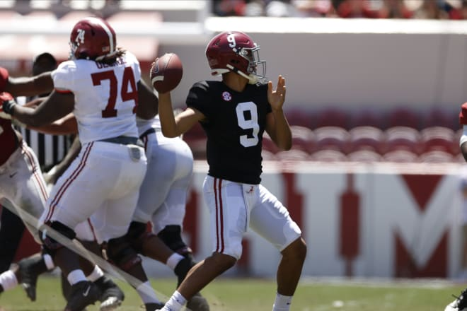 Alabama Crimson Tide quarterback Bryce Young. Photo   SEC