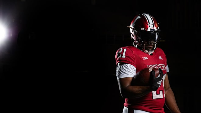 IU to wear retro uniforms for Cincinnati game, mirroring those worn by Bill Mallory teams in the late 80's and 90's. (IU Athletics)