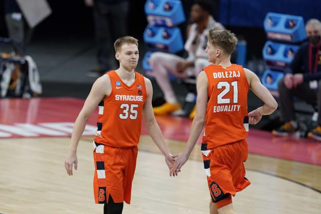 Buddy Boeheim and Marek Dolezaj