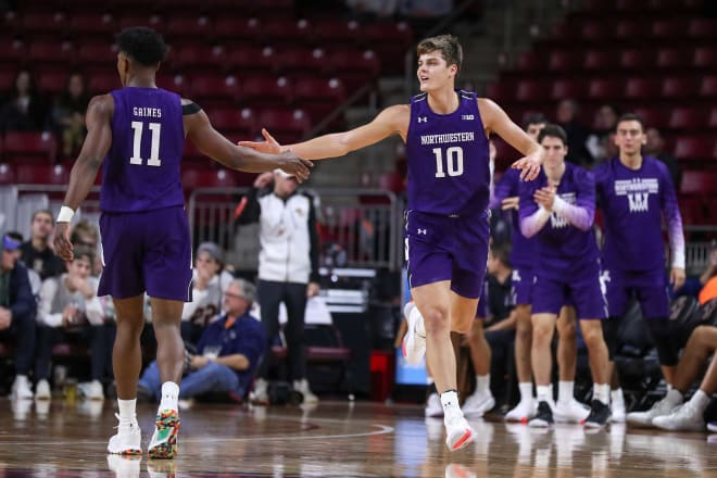 Anthony Gaines and Miller Kopp are both leaving Northwestern as transfers.