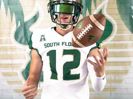 Smith during his visit that led to his USF offer