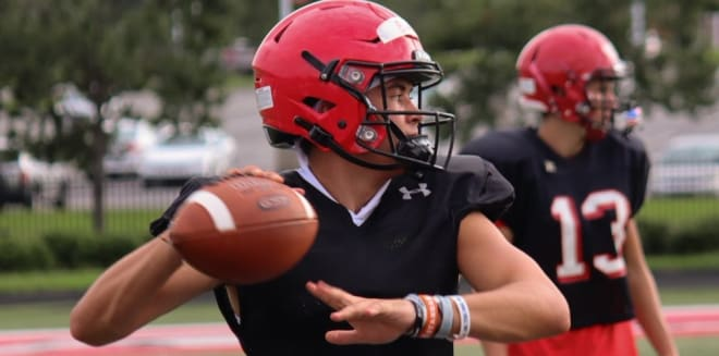 South Carolina offered Nation Ford quarterback Carson Black this week.