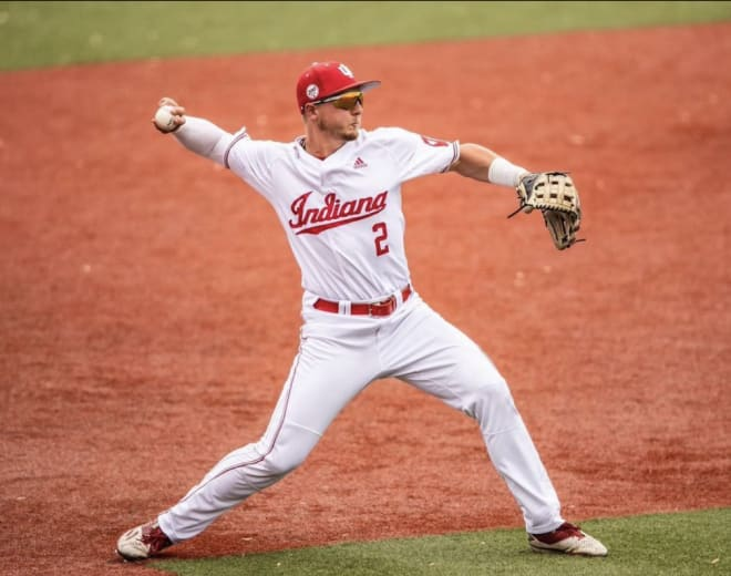 IU looks to maintain its conference lead this upcoming weekend in a two-game series, each with Rutgers and Nebraska.  (IU Athletics)