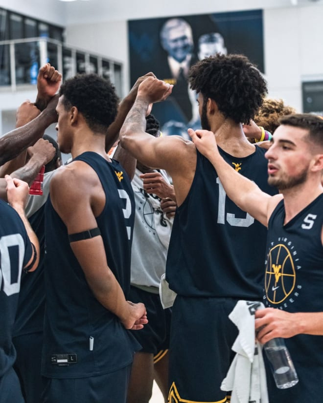 The West Virginia basketball team is committed to a common goal.