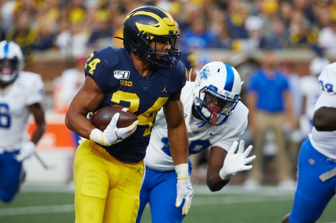 Former Michigan Wolverines football running back Zach Charbonnet, a California native, is headed to UCLA.