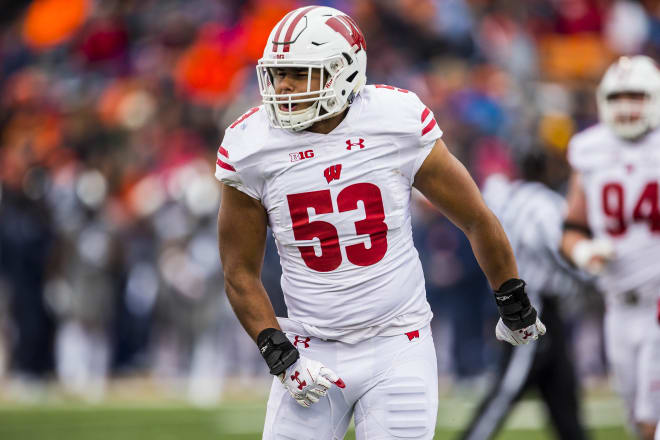 Linebacker T.J. Edwards returns to Madison after an All-American season as a junior.