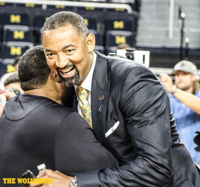 Michigan Wolverines basketball coach Juwan Howard has a top-five class.