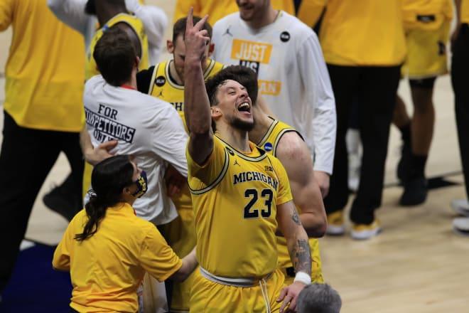 Michigan Wolverines basketball junior forward Brandon Johns scored a season-high 11 points against LSU.