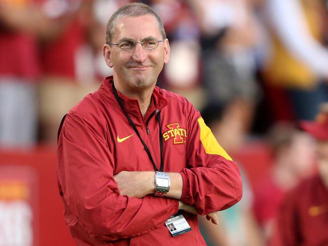 Iowa State Athletic Director Jamie Pollard.