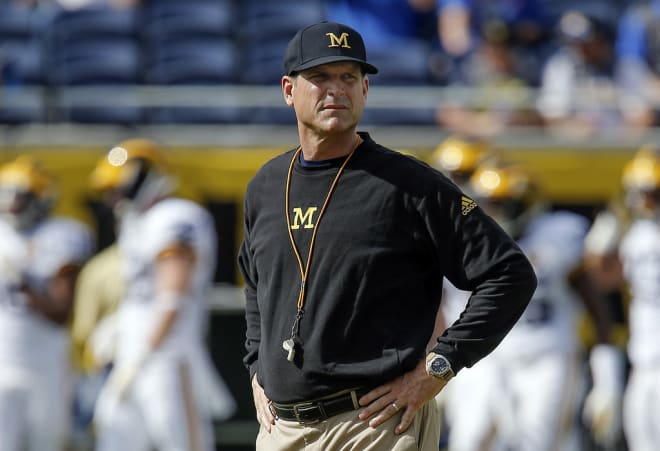 Jim Harbaugh's ethics have been called into question.
