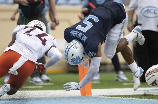 Newsome's ability to make tough, acrobatic plays will help him in training camp.