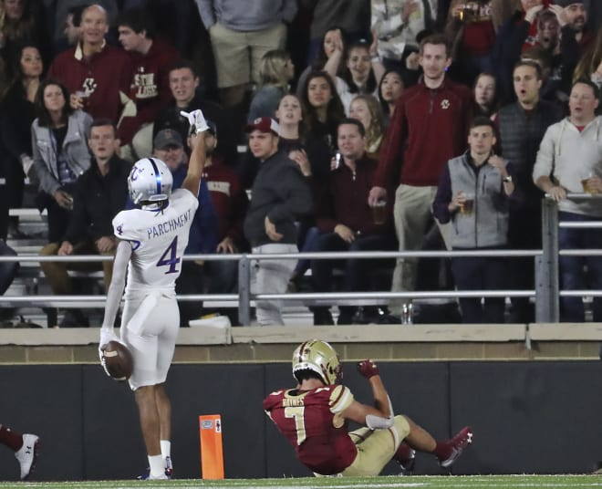 Andrew Parchment was one of the nation's top receivers in 2019, catching 65 passes at Kansas. This season, he'll be a sixth-year senior at Florida State.