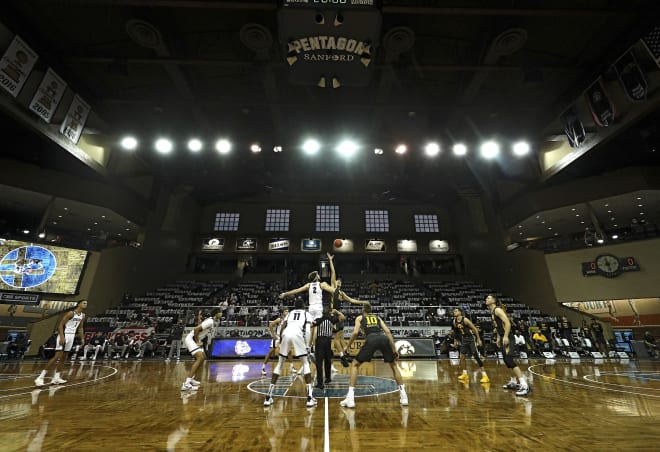 For the second straight year, Iowa will play in South Dakota in December. (Photo:Hawkeyesports.com)