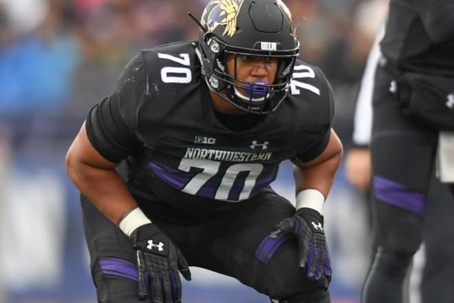 Slater will be Northwestern's first NFL first-round draft pick since 2005.