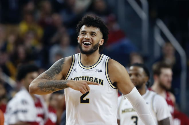 Michigan Wolverines basketball senior forward Isaiah Livers averaged 12.9 points per game last season.