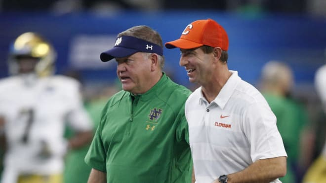 What They Re Saying Clemson Tigers Notre Dame Fighting Irish Football For The Acc Championship