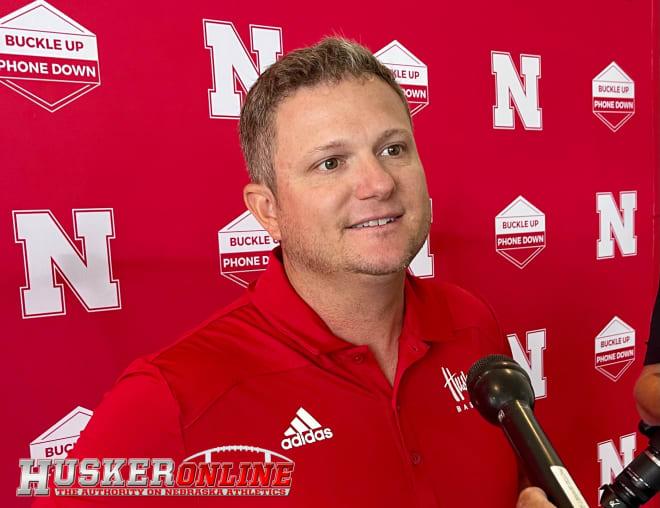 Nebraska baseball Will Bolt said new athletic director Trev Alberts checks every box that Husker coaches wanted.