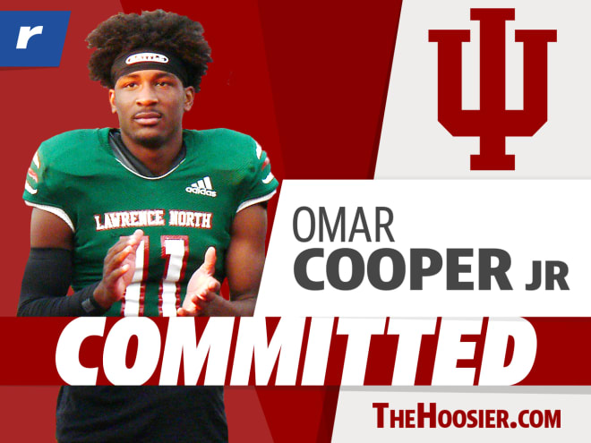 Omar Cooper Jr. committed to Indiana on Wednesday