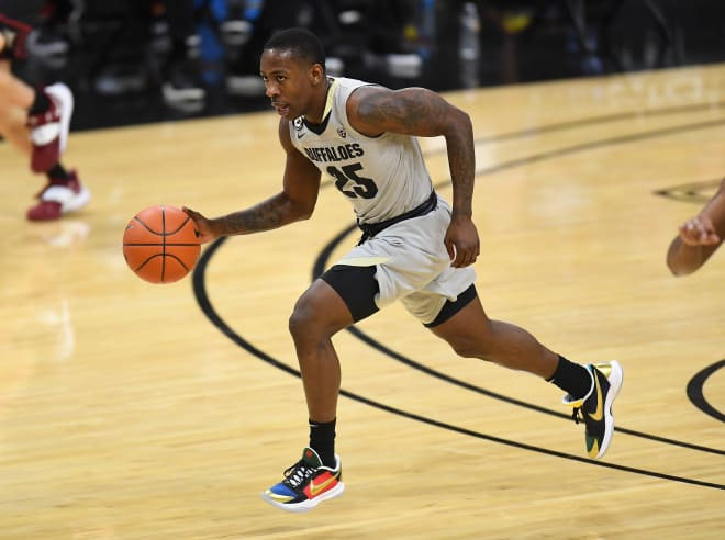 Senior guard McKinley Wright leads Colorado in scoring and assists.