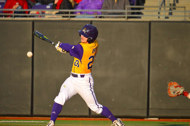 (17) ECU came out on the short end of an 11-5 loss Friday afternoon on day one of the Keith LeClair Classic.