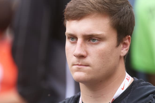 Offensive tackle Jimmy Fritzsche announced he was signing with Nebraska over Clemson on Wednesday.
