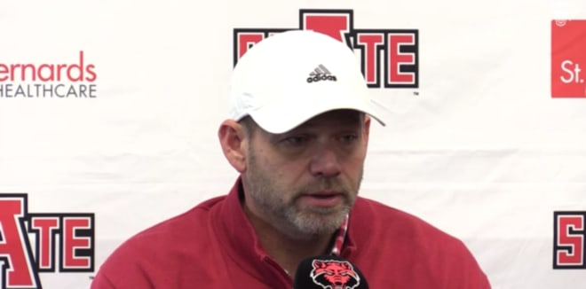 Joe Cauthen served as Arkansas State's defensive coordinator before taking a job at Houston.
