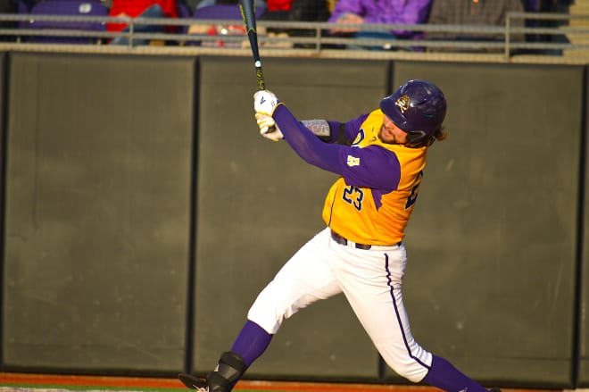 Alec Burleson pounded his first homer of the season along with two from Bryson Worrell in ECU's win over High Point.