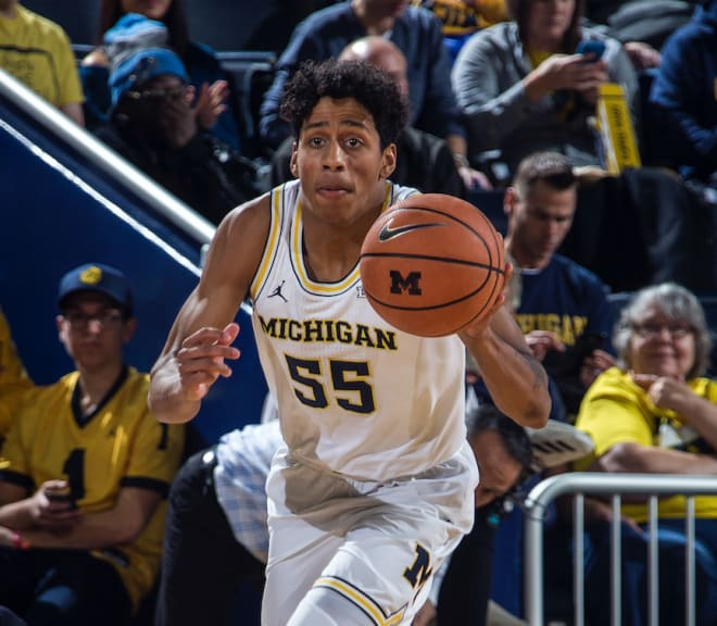 Sophomore guard Eli Brooks had eight points against Norfolk State.