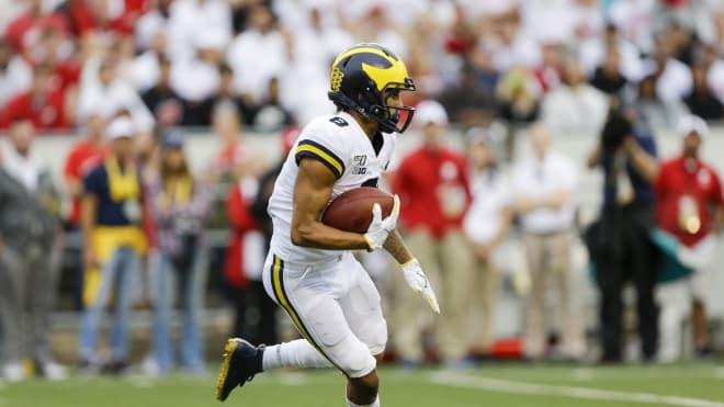 Michigan Wolverines football junior wideout Ronnie Bell has led U-M in receiving yards each of the last two seasons.