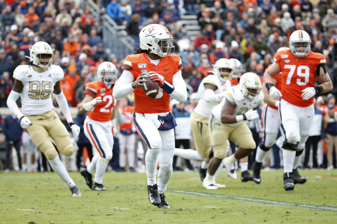 Perkins was the heart of the Virginia offense the last two seasons