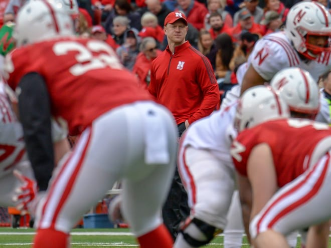 Nebraska head coach Scott Frost doesn't expect to name permanent captains to start the season.
