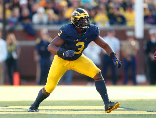 Junior defensive end Rashan Gary will enter the NFL Draft.
