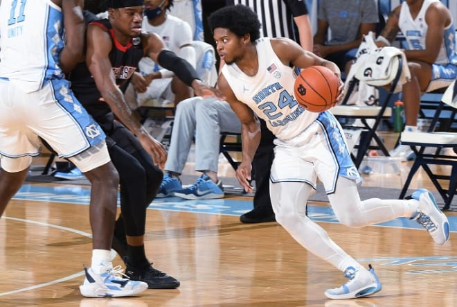 As Kerwin Walton has become more of a perimeter focal point of opponents, he's using the dribble to help his game.