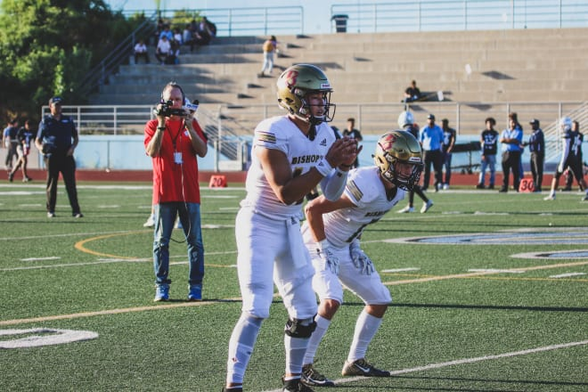 Notre Dame quarterback commit Tyler Buchner has had a sensational junior season