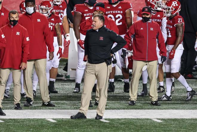 Rutgers Scarlet Knights head coach Greg Schiano