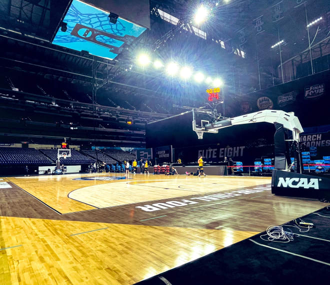 The Michigan Wolverines basketball team, led by head coach Juwan Howard, have been in Indianapolis for 15 days.