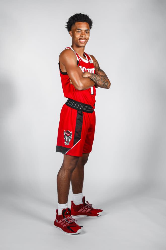 NC State Wolfpack basketball guard Breon Pass